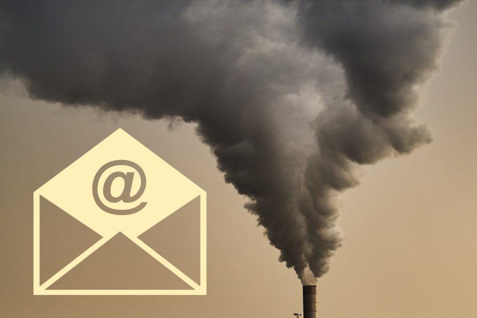 Inquinamento email