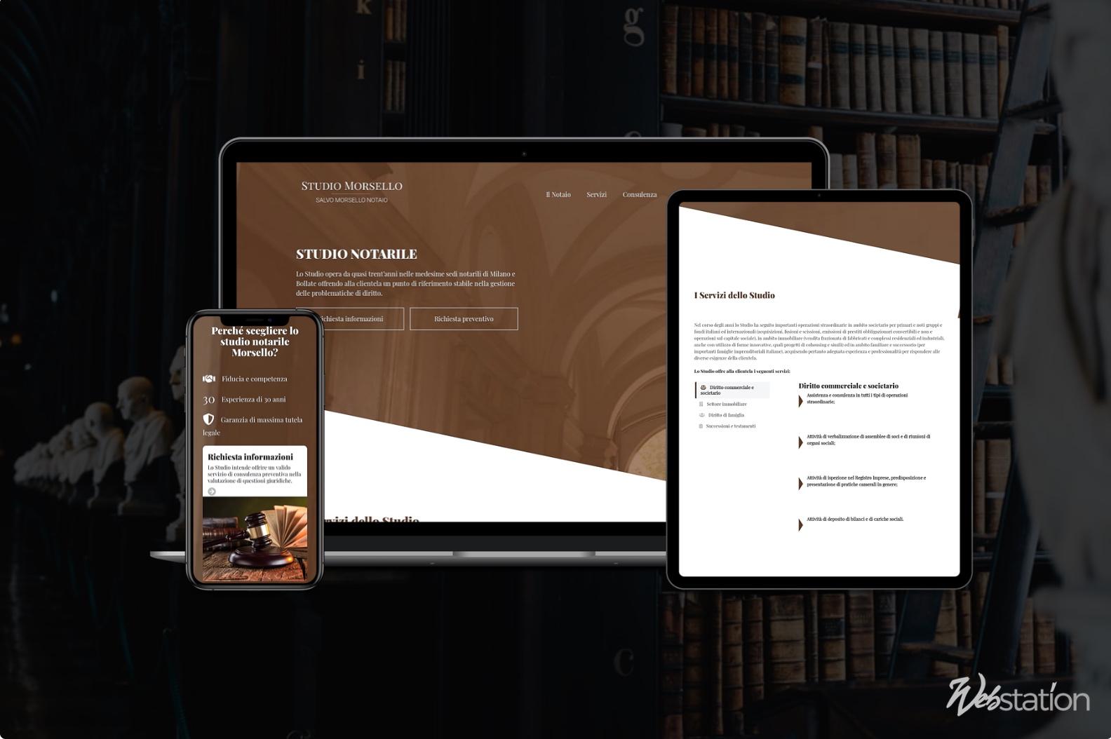 sito web studio notarile notaio