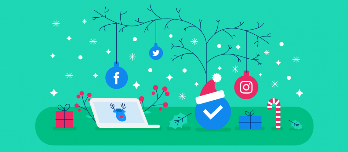 Come gestire social network natale