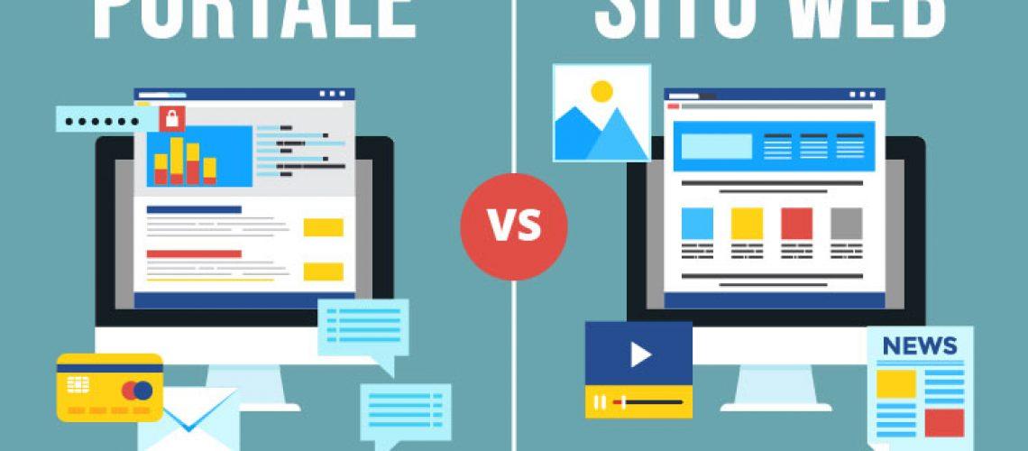 Portale vs Sito web